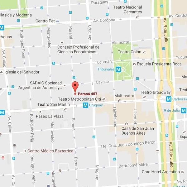 Paraná 457, Buenos Aires, Ciudad Autónoma de Buenos Aires